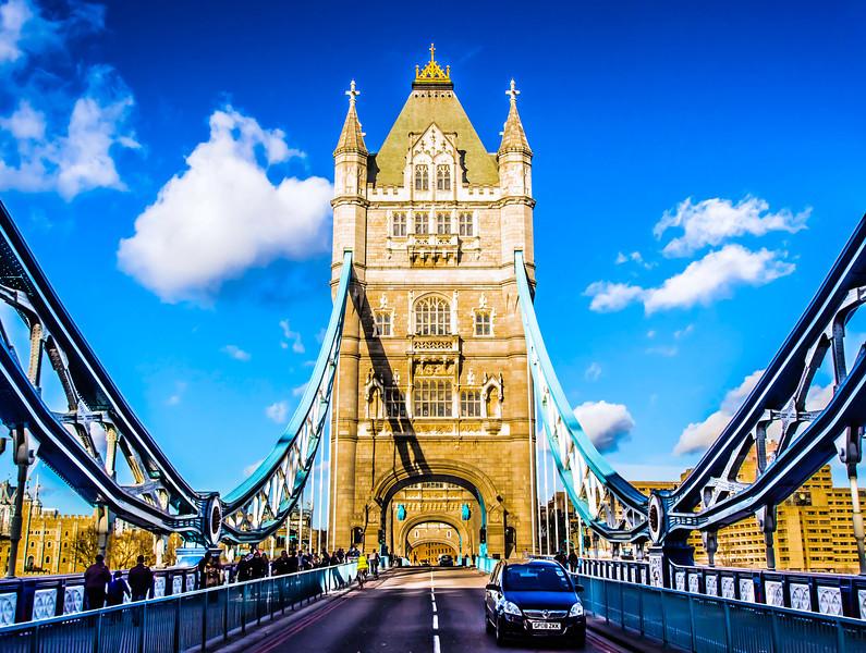 The Tower Bridge  London, England