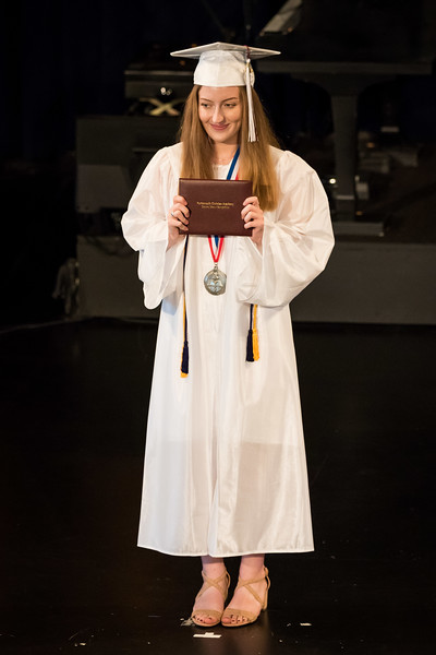 2018 Portsmouth Christian Academy at Dover Graduation held at the Bethany Church in Greenland Friday. [Scott Patterson/Fosters.com]