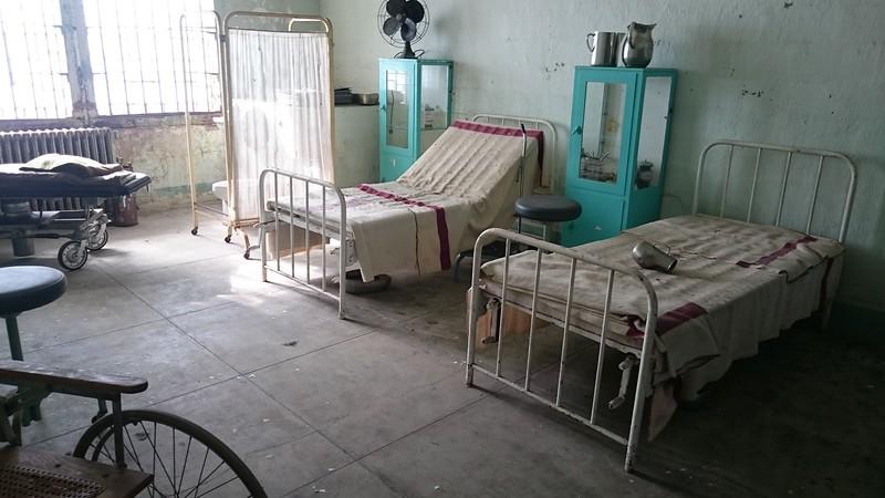 the Alcatraz 'Hospital'