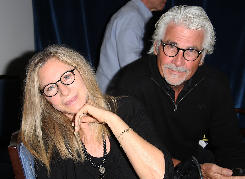 ". Barbra Streisand and James Brolin attend the ""And So It Goes\"" premiere at Guild Hall on July 6, 2014 in East Hampton, New York.  (Photo by Sonia Moskowitz/Getty Images)"