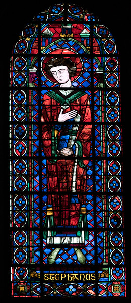 Bourges Cathedral Clerestory Lancet Window - Saint-Stephen
