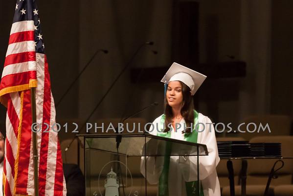 Cornerstone Charter Academy High School Graduation - 2012