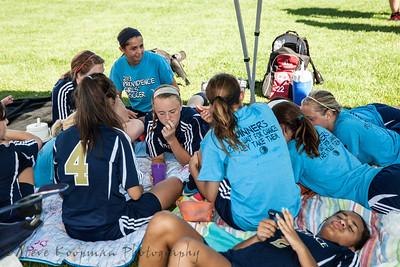 2013 PHS Girls Soccer vs New Castle