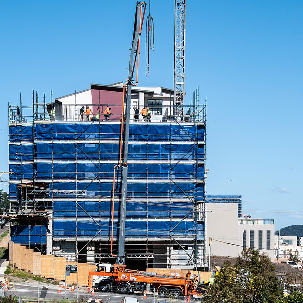 Building progress 111. At 47 Beane St. Gosford. Augusst 2018.