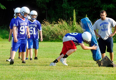 Wahconah football practice 082013
