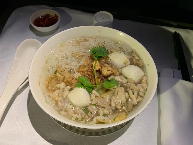 Comfort food 1/2 way in the flight