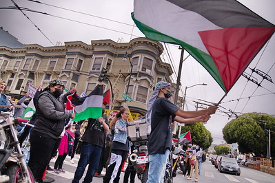 15May2021 San Francisco:  Nakba 73; Palestinian  Community Event and Rally