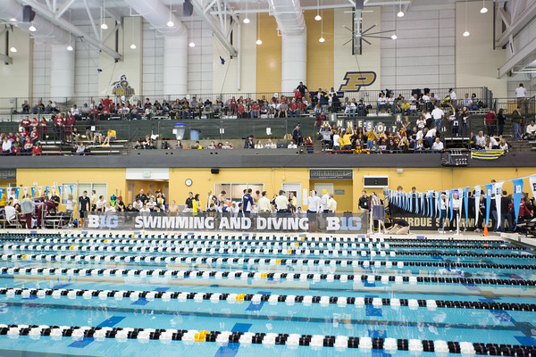 02-25-16 Big Ten Swimming and Diving Championships Day Two (Night Session)