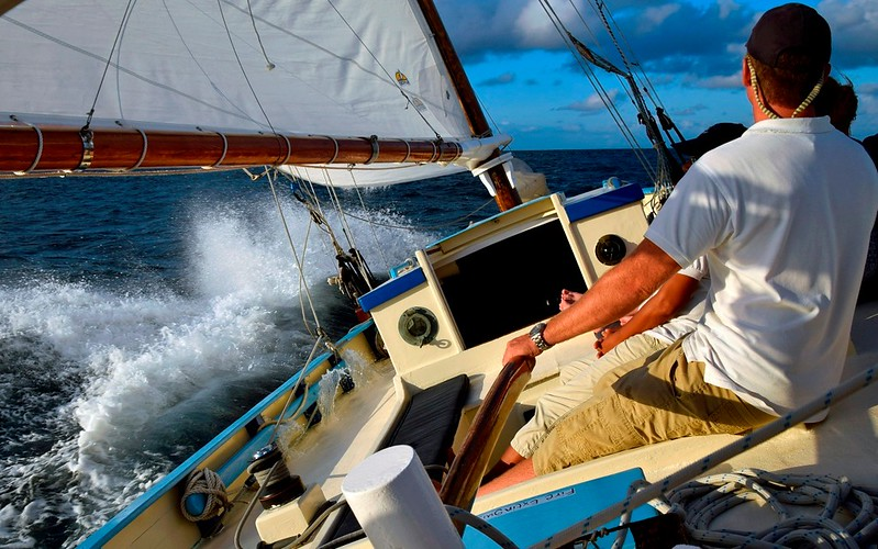 Jus' Sail GE under sail from sitting in stern.jpg