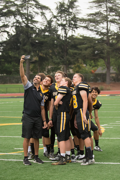 Taken during the Varsity Football Photo Day at Mountain View CA on 8-12-2017
