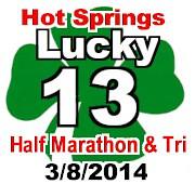 Lucky 13 Tri and Half Marathon
