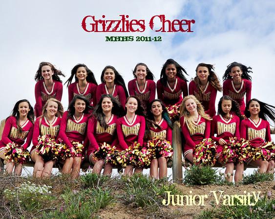 MHHS 2011 - Junior Varsity Cheer