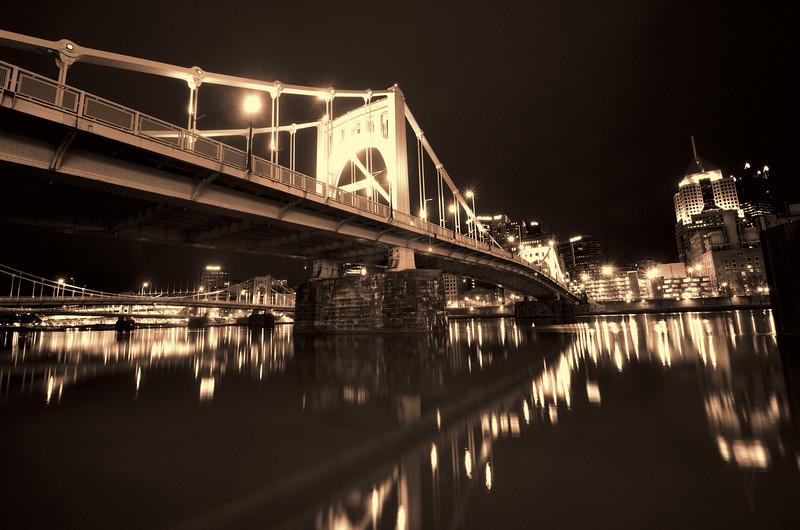 Roberto Clement Bridge, near PNC Park stadium