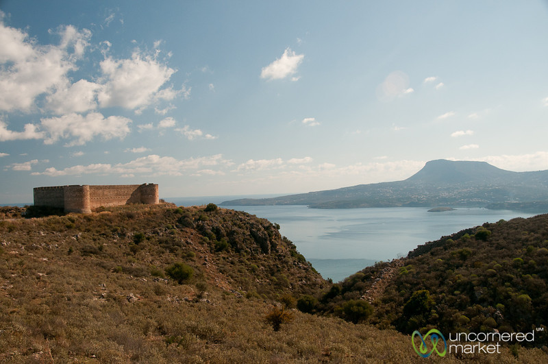 Turkish Fort and Souda Gulf - Aptera, Crete