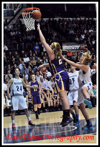 Basketball - SCT Girls Finals  Manasquan vs St.Rose  Feb 2012
