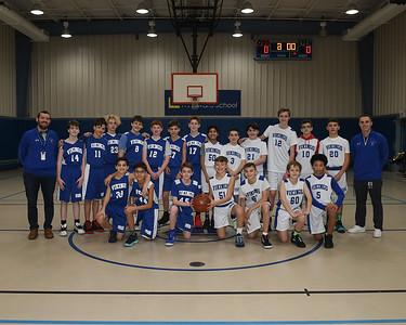 WMS Grade 7 Basketball vs. MMS Grade 7 Basketball - December 22, 2019
