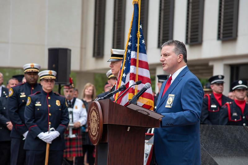 Fallen Firefighter Memorial Unveiling Ceremony | 04-01-2019