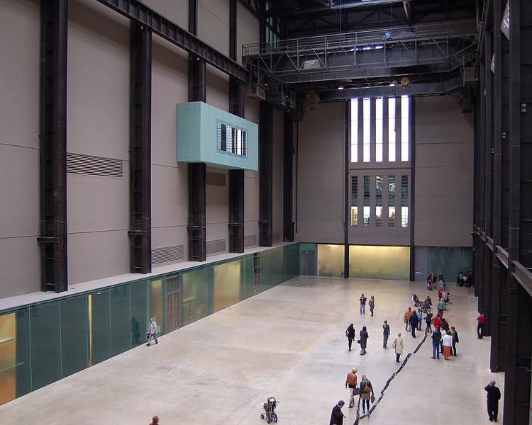 The Turbine Hall at Tate Modern