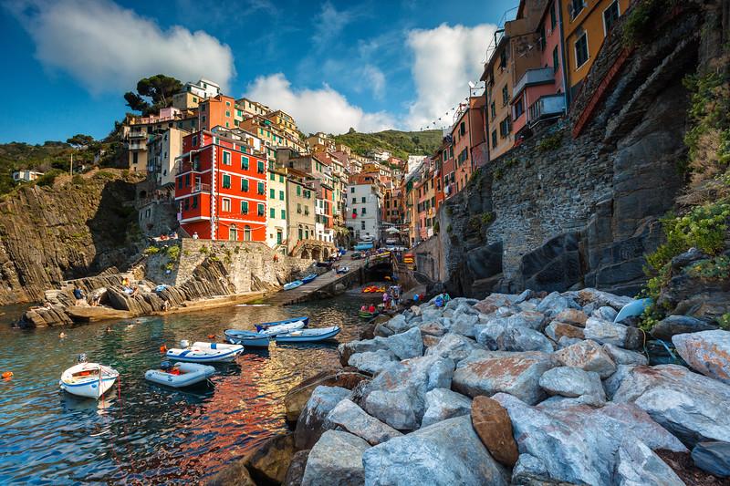 Riomaggiore, Cinque Terre National Park. Liguria, Italy.