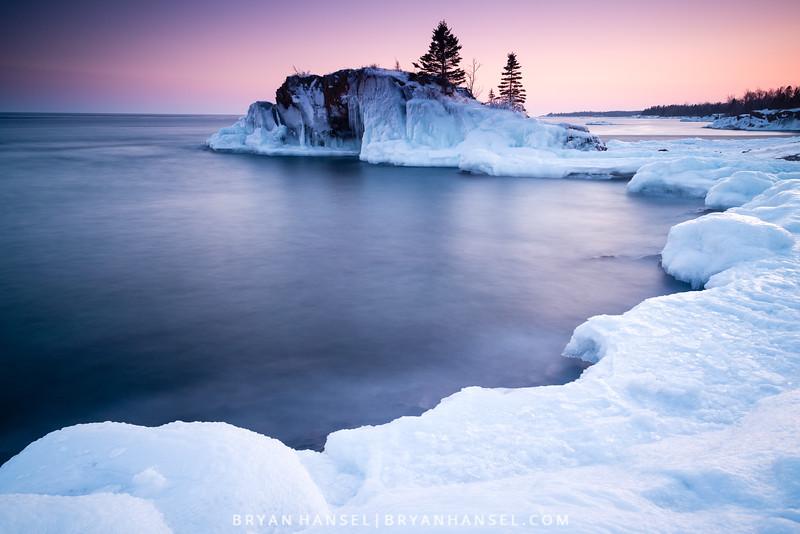 Sunset at Hollow Rock