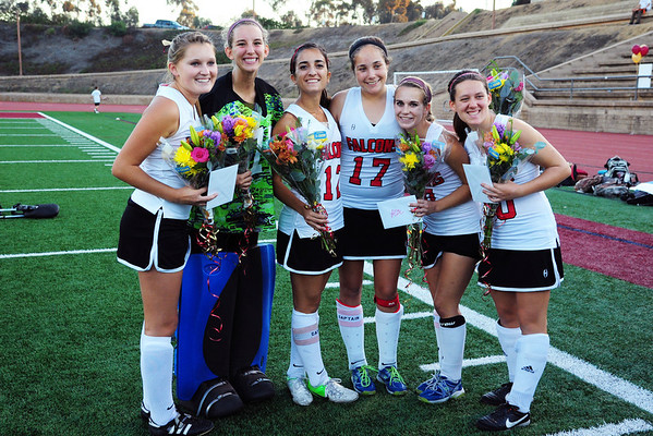 FH Senior Night, 11-13-13