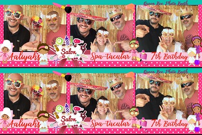 Aaliyah's Spa-tacular 7th Birthday