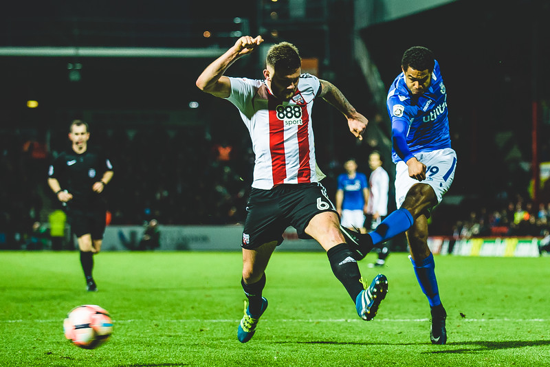 Brentford v Eastleigh - Emirates FA Cup 3rd Round