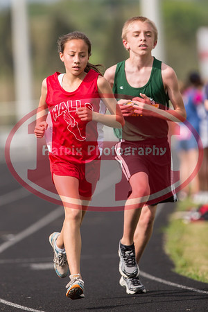 Middle School Track 2012
