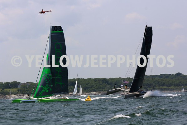 2015 Transatlantic Race Start Newport