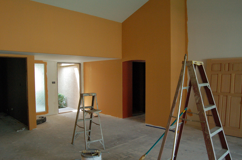 Vibrant colors, a hallmark of Heinz and Ellen homes (because we use a great designer to help us: Laurie Plum).