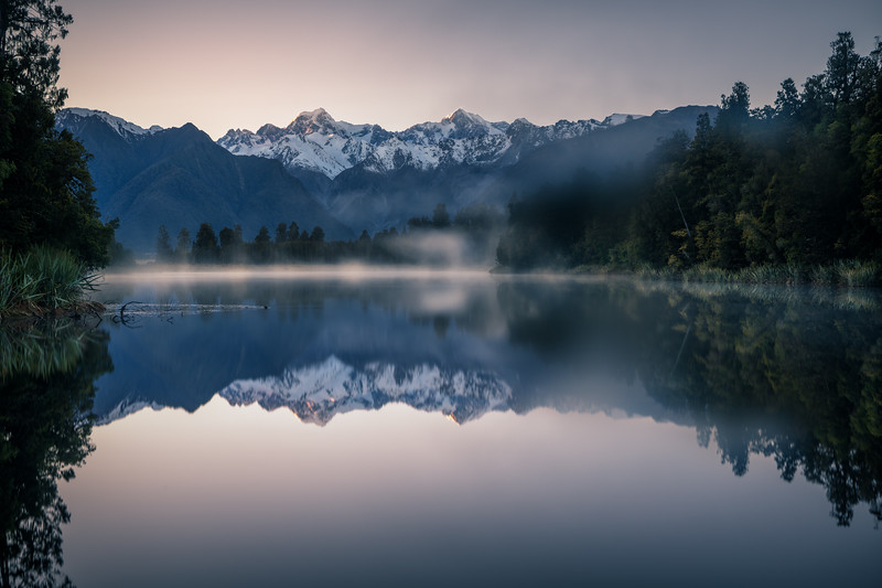 Mist on the Mirror || Lake Matheson