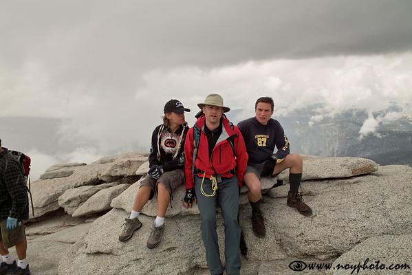 Half Dome Hike, June 13, 2009