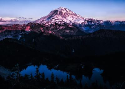 Tolmie Peak Full Moon 2018