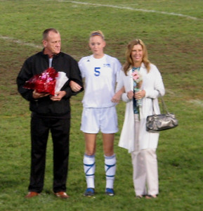 Senior night - October 8, 2008