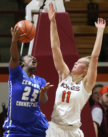 Central Connecticut St Virginia Tech Basketball