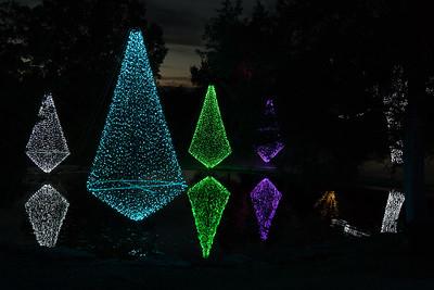 2016 11 Holiday Lights at Cheekwood