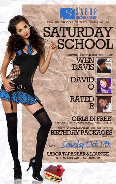 Saturday School @ Sabor 10.17.09