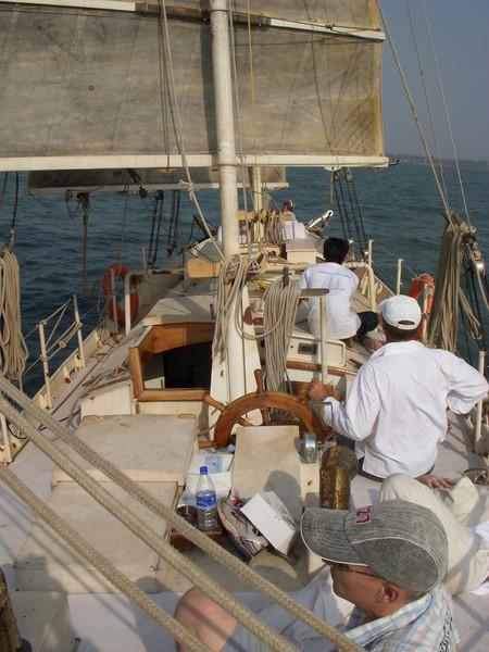Day sail in Cochin