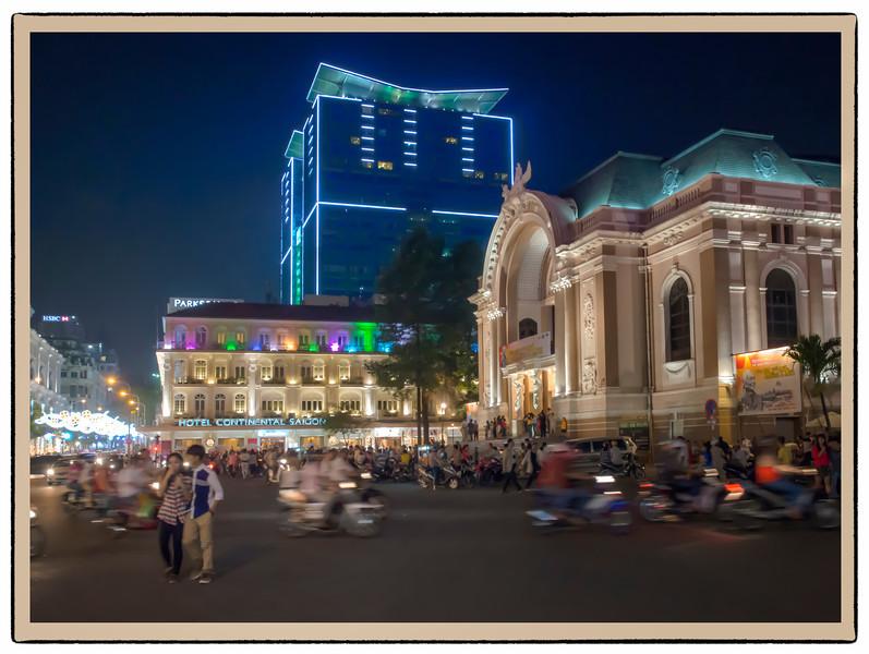 The Opera House, Saigon, Vietnam.