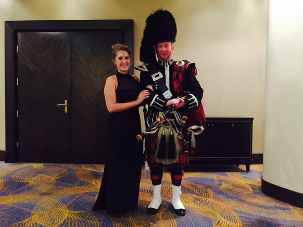 Burns Supper, Renaissance Monarch Center - Feb 2016
