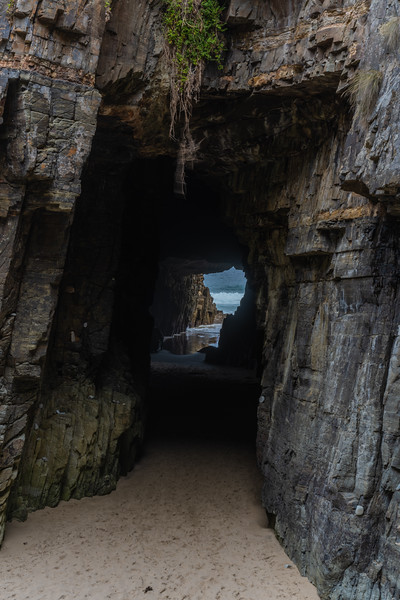 Remarkable cave