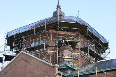 St. Mary's Orthodox Cathedral Renovation - August 2006