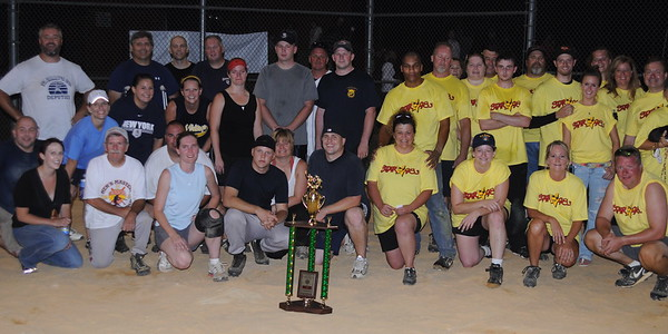 8/15/2009 St. Mary's County Sheriff's Office Against 98.3 Star FM Softball