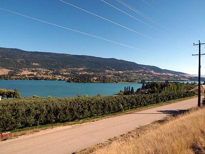 12 September : Kalamalka Lake, North Okanagan Valley, BC