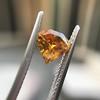 .84ct Fancy Deep Orange-Yellow Shield Shape Diamond, GIA 1