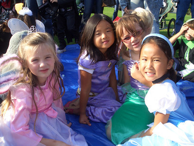 Halloween Parade at Pacific Elementary School