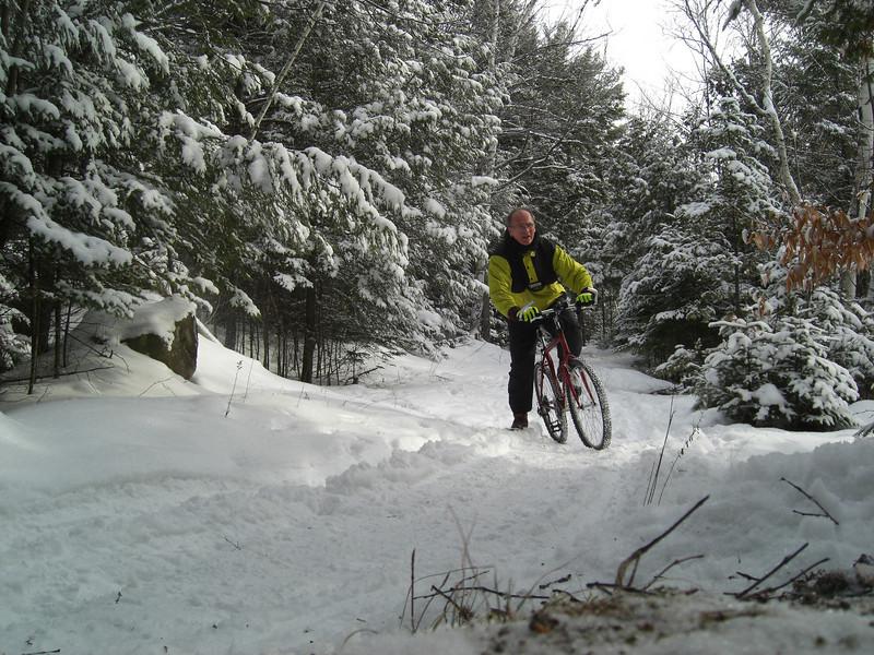 Icebiking, SLHS Trail, Christmas morning, 2009.CIMG0851.JPG