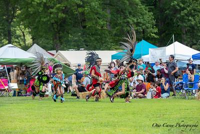 Bear Mountain Pow Wow 2019 Aztec Dancers
