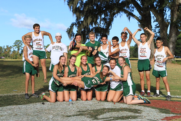 Mosley High School Cross Country 2016