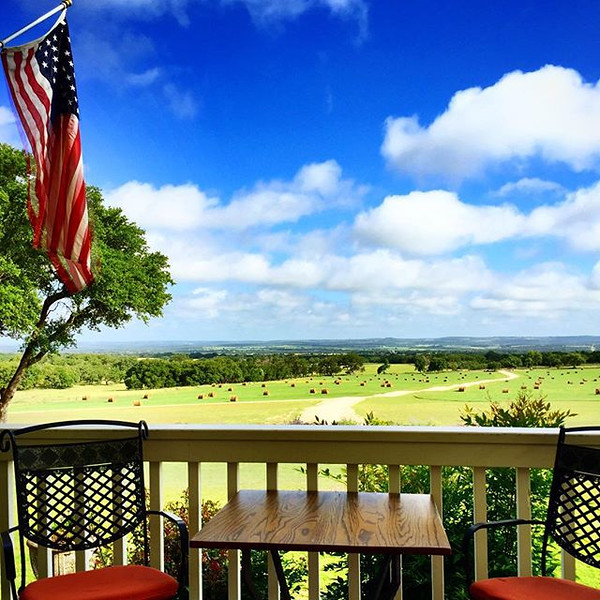 My_breakfast_view_of_Texas_Hill_Country._Just_because_it_s_the_country_doesn_t_mean_I_m_roughing_it__this__HistoricHotels_is_a_AAA_Four_Diamond_bed_and_breakfast.___TasteUSA__TexasToDo__Fredericksburgtx.jpg